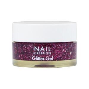 Nail Creation Glitter Gel Burgundy 5ml Nail Creation Uk